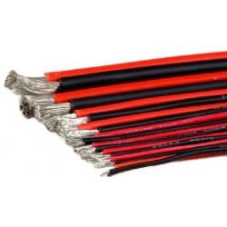 Cable Silicona Ultra Flexible Alta corriente y Temperatura