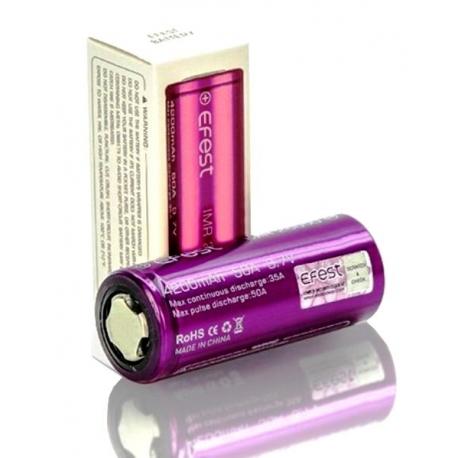 Baterías de Litio 26650 3.7v 4.200mA Efest