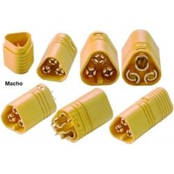 Conector MT60 de 3 pines Macho