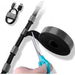 Clip Abrazadera de Nylon para Cables