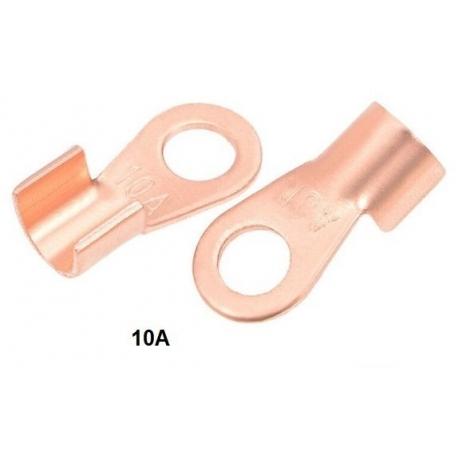 Terminales anillas de Cobre de potencia 10A