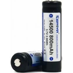 Batería 14500 3.7v KeepPower Recargable