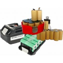 Pack de Baterias 3-6A para Taladros