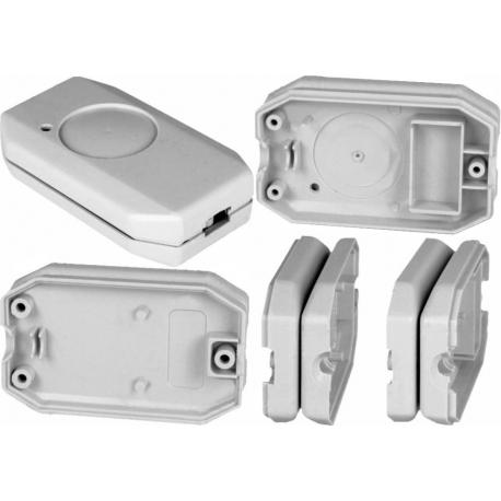 Caja de mando a distancia ABS 1 tecla Gris