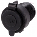 Base Conector Mechero Hembra de empotrar IP64
