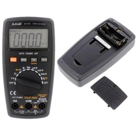 Multímetro Digital AX105 Multifunción