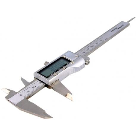 Calibre Digital 3 Dígitos, medidas en mm/inch