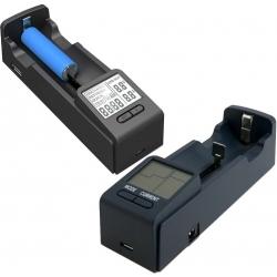 Cargador de mesa 1 Bateria NiMH, NiCd, Li-ion, LiFePo4