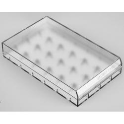 Caja de Protección para 6 Baterías 18650