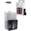 Cargador de mesa 2 Baterias de Litio 3.7v Efest R2