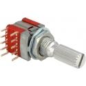 Conmutador Giratorio miniatura de Circuito Impreso S1023