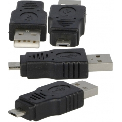 Adaptador USB-Macho-Mini USB Macho
