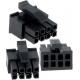 Conectores MATE-N-LOK 3mm 8pin Rectan