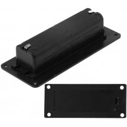 Portapilas baterías 1x18650 Empotrable