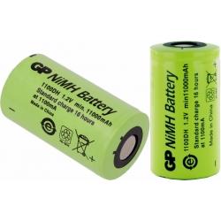 Batería NI-MH Recargable D-R20 1.2v. 11.000mA GP