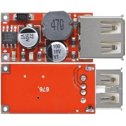 Fuente DC-DC-Step Up, USB 9-24v. a 5V