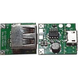 Fuente DC-DC-Step Down USB Hembra-MIcro usb 3.7-.5.5v. a 5V