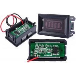 Monitor Voltímetro de panel de barras para baterías de 36 y 48v