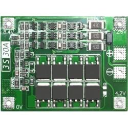 PCM 3S para Baterías de Litio 11.1v.30A. V2.3 Balanceado