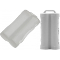 Protector de Silicona para Baterías 2x18650