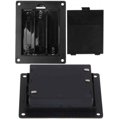 Portapilas baterías 3x18650 Empotrable
