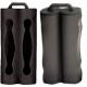 Protector de Silicona para Baterías 2x18650 Negro