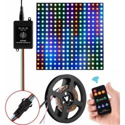 Mini Controlador RF WS2812B 6812 Pixel Led
