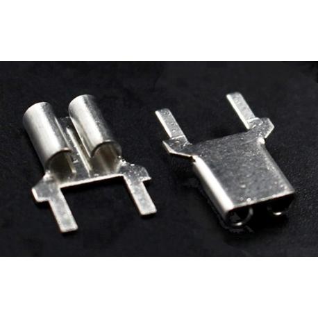 Faston Hembra 6.3mm para PCB