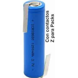 Batería de Litio ICR18650 Pack