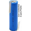 Batería de Litio ICR18650 1.200mAh