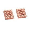 Disipadores Térmicos de Aletas en Aluminio y Cobre