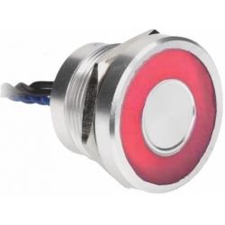 Pulsador Piezoeléctrico 0Y01 28mm con Led