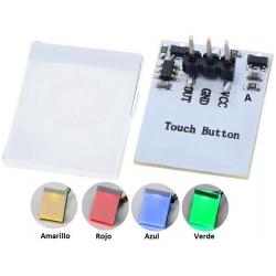 Sensor Touch capacitivo con Led TTP223B