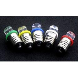 Bombilla LED E10 1 Led Blanco Inverted 12v