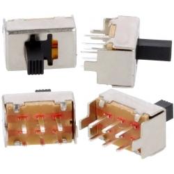 Interruptor deslizante 2 circuitos 2 posiciones G6