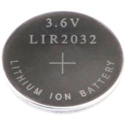 Batería de Litio LiR2032 Recargable 3.6v