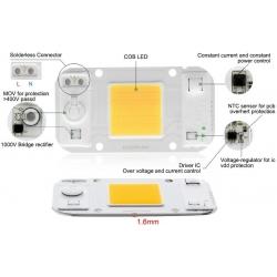 Led COB 50w 220v Chip On Board 2575
