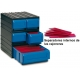 Cajas Modulares de pared 5 cajones