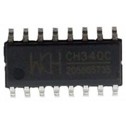 CH340C USB a puerto TTL ISP 5V / 3.3V 500ma