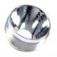 Reflector Aluminio 17,45mm texturizado
