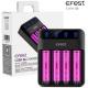 Cargador de mesa 4 Bateria de Litio 3.7v Efest Lush Q4