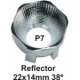 Reflector BOOM 22x14 38º