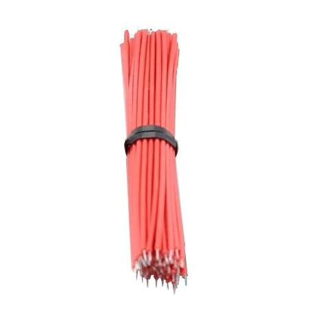 Cables Precortados y estañados Rojo