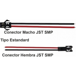 Conectores JST-SMP SMR 2 Pin Estandard