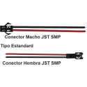 Conectores JST-SMP SMR 2 Pin 2.50mm con cables