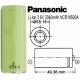 Bateria Litio Panasonic NCR18500A No protegida