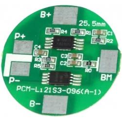 PCM para Baterías de LifePo 6.4v.2.5A