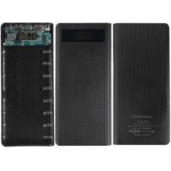 Power Bank para 8 baterías 18650 de Litio-con USB