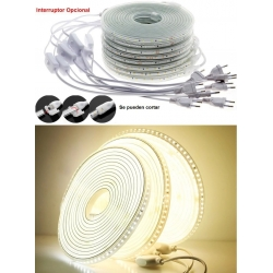 Tiras Flexible 220v. IP65 120 Led 2835