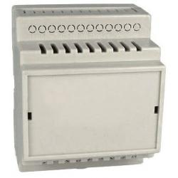 Caja para Carril Din CP23 de 4 módulos Crema